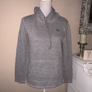 Abercrombie and Fitch unisex hooded shirt size XS